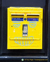 Another grafittied postbox