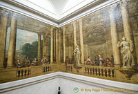 Murals from the ancient Hotel de Luynes in Bvd St Germain