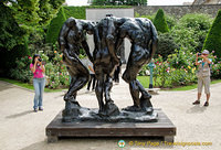 Les Trois Ombres, one of Rodin's outstanding sculptures