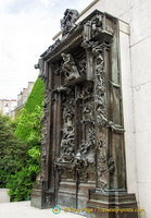 Rodin's monumental Gates of Hell