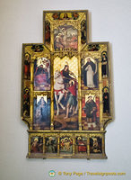 An altarpiece
