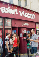 Le Point Virgule, a comedy theatre in Le Marais