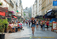More cafes and restaurants on rue Cler