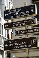 Attractions in rue Mouffetard