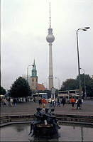 "Radio Tower, former East Berlin ""The Pope's Revenge"""