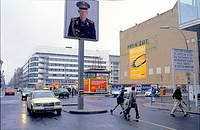 The former Checkpoint Charlie - Russian side