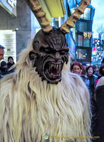 Scary-looking Krampus