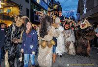 Krampus parade in Munich