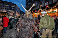 Krampus taking on the law