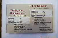 Rathaus tower lift