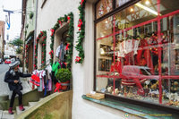 Christmas shopping in Rothenburg