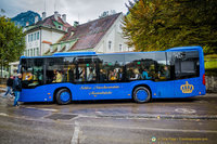 Bus to Neuschwanstein Castle
