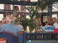Hendrik commencing a lecture on river locks