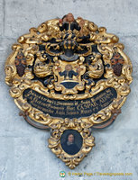 Epitaphs and memorial shields