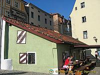 Historische Wurstküchl, said to be one of Germany's oldest sausage makers