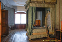 Bedroom of Count Carl Ludwig of Hohenlohe