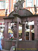 Engelsbrunnen (Angels Fountain) in Wertheim