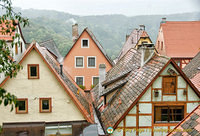 Roof-top views from the Rothenburg wall