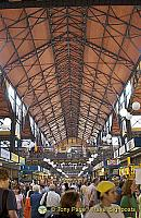 The Great Market Hall was designed by the Hungarian architect Samu Pecz (1854-1922)