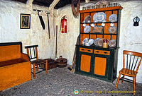 Inside the Cashen fisherman's house