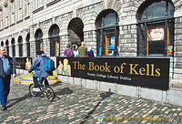 The Book of Kells at the Old Library Building