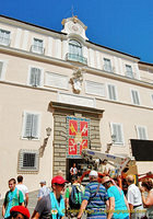 Castel Gandolfo is the summer residence of Popes
