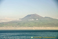 A view of Vesuvius