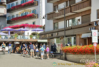 Cycling is a summer activity in Cortina d'Ampezzo