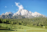 Dramatic scenery of the Dolomites