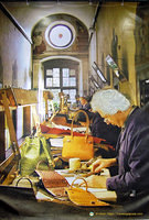 Leather artisans at work