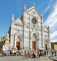 Basilica di Santa Croce, the main Franciscan church in Florence