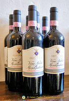 Bottles of Montepulciano Vino Nobile from Contucci