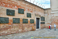 Holocaust Memorial in Campo di Ghetto Nuovo