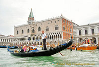 A magical sight on the Venice Grand Canal