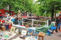 Sellers at the Antiques and Bric-a-Brac market