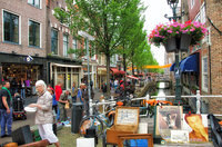 Voldersgracht, one of the oldest canals in Delft