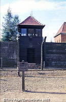 Watchtower at Auschwitz I