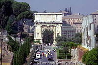The Arch of Titus, Forum, Rome