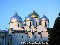 St Sophia Cathedral looks new but it is actually the oldest church in Russia