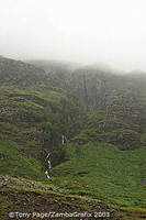 Misty Vale of Glen Coe