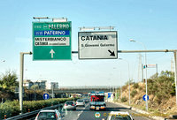 Directions for Palermo and Catania