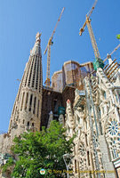 The Glory Facade is Gaudi's depiction of the road to God