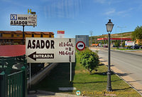 Entrance to Meson del Asador