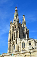Spires of Burgos Cathedral