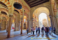 Visiting the Mezquita