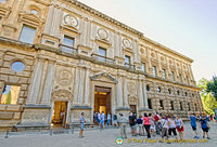 Palace of Charles V: This palace was the project of Emperor Charles V