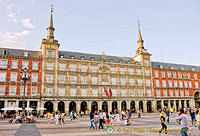 Madrid - Plaza Mayor and Restaurants