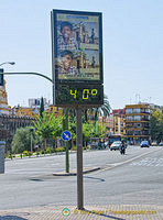 It was 5 pm and 40C in Seville