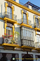Beautiful Seville balconies
