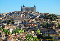 The Alcazar standing high above the City of Toledo